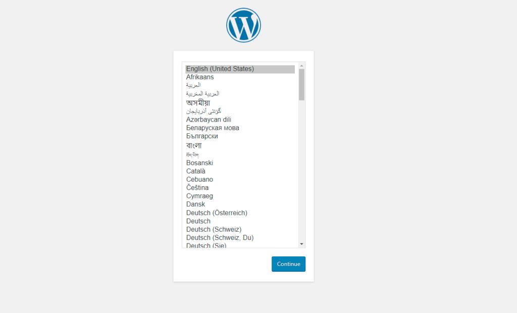 Install WordPress using VestaCP