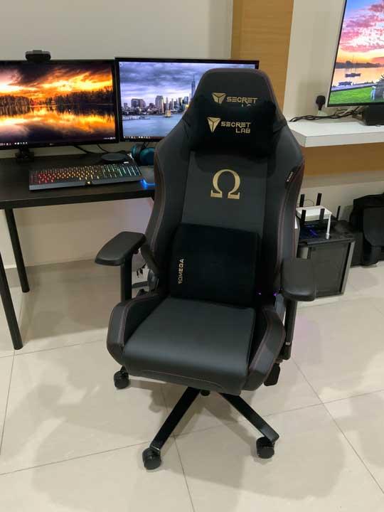 Gaming Chair: Secretlab OMEGA Stealth