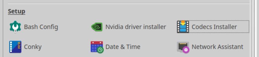 codecs installer mx tools