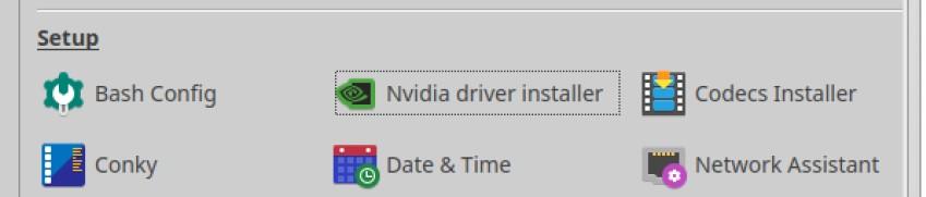 nvidia driver installer mx tools